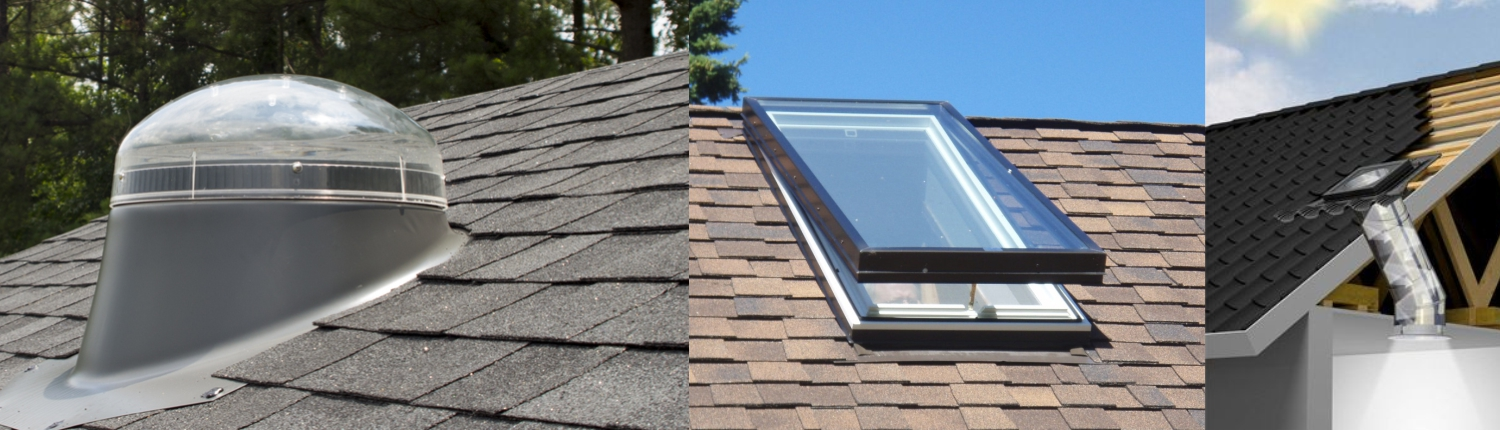 Roofing energy saving options made affordable skylights for Energy efficient roofing material